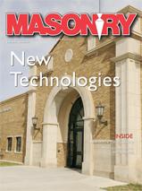 Masonry Magazine Cover